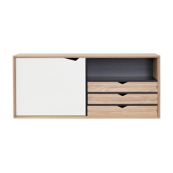 Andersen Furniture - S2 Hängemodul mit Tür und 3 Schubkästen