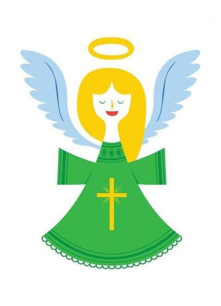 Angel Leinwandbild