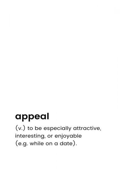 Appeal 2 Leinwandbild