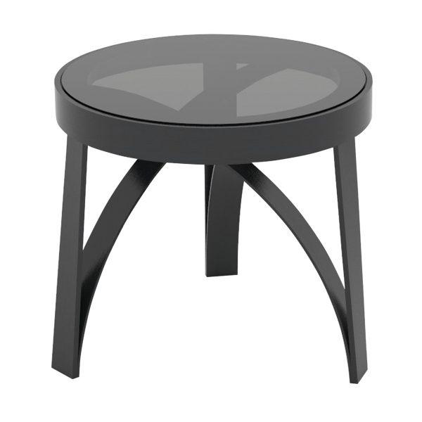 Arco Beistelltisch schwarz