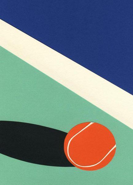 Arizona Tennis Club II Leinwandbild