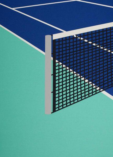 Arizona Tennis Club Leinwandbild