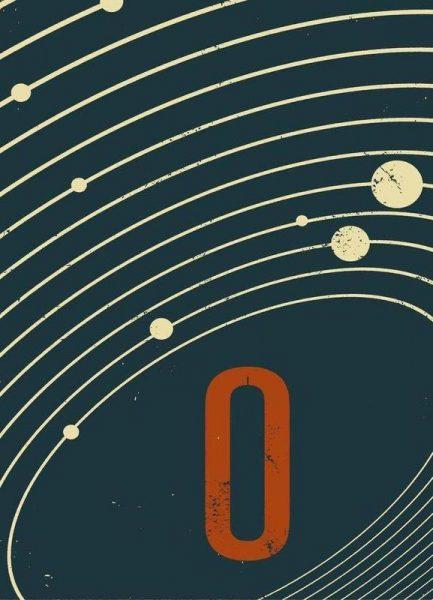Astro nought Leinwandbild