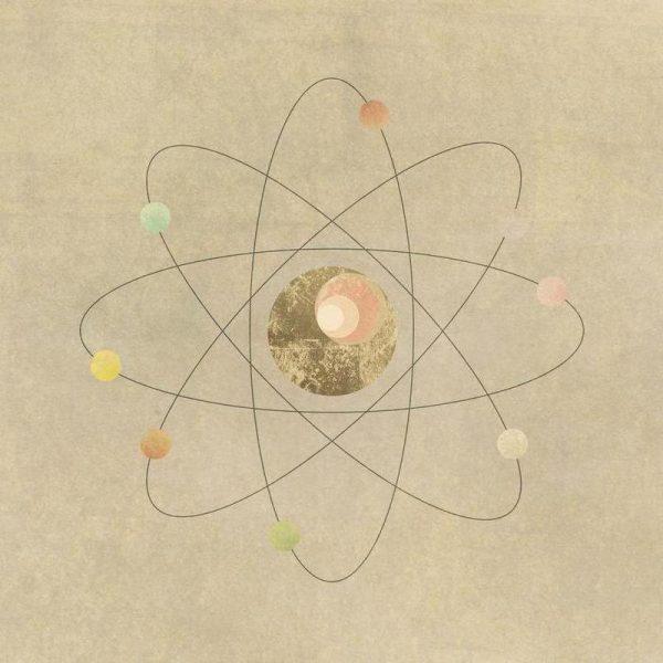Atom Leinwandbild