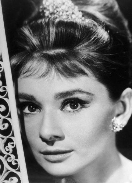 Audrey Hepburn 3 Leinwandbild