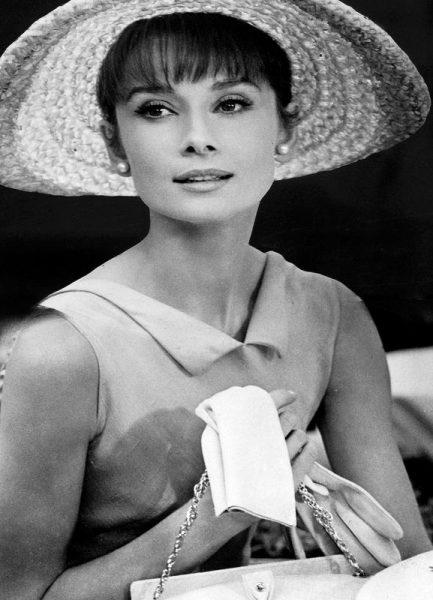 Audrey Hepburn 4 Leinwandbild