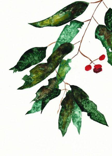 Autumn Berry 1 Leinwandbild