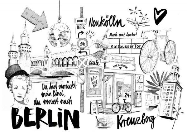 BERLIN 1 Leinwandbild