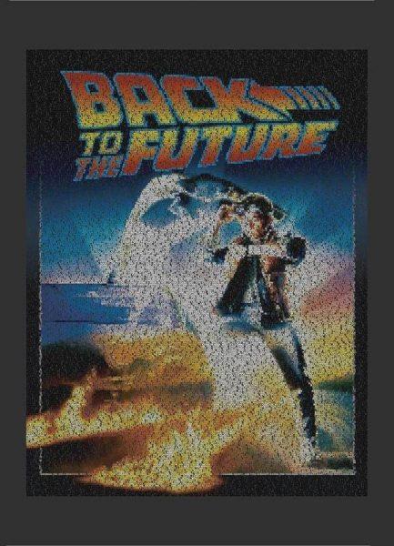Back To The Future Leinwandbild