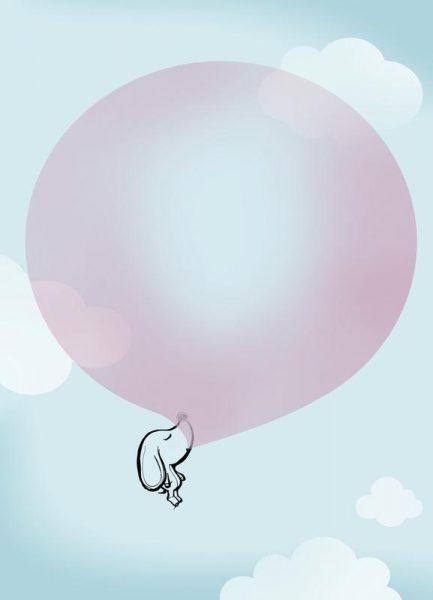 Balloon Leinwandbild