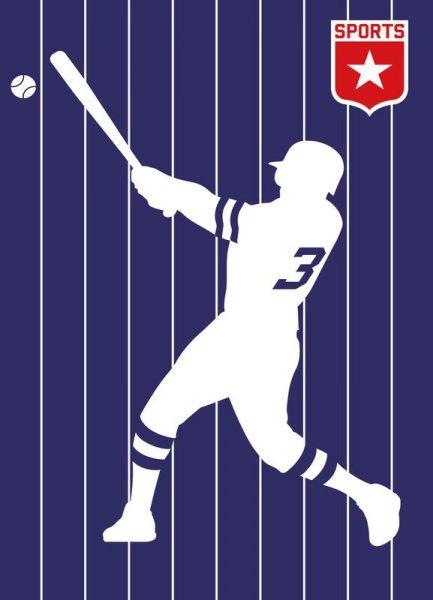 Baseball Leinwandbild