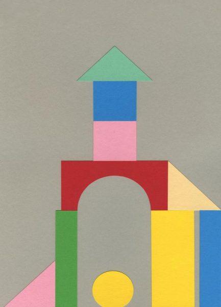 Bauhaus Tower Leinwandbild