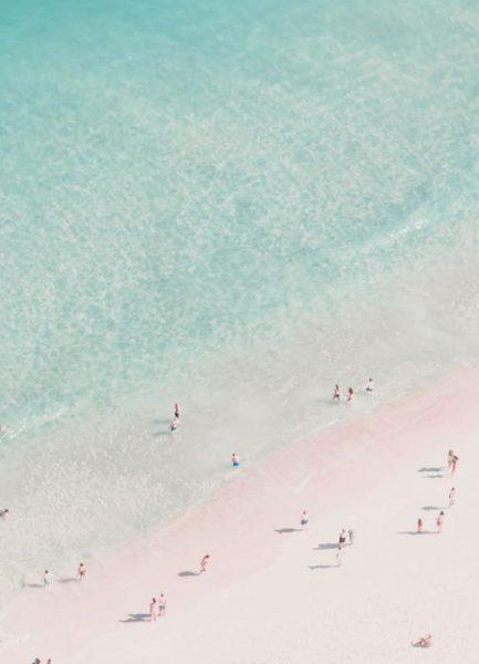 Beach Love Leinwandbild