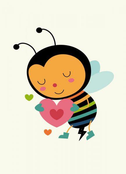 Bee Mine Leinwandbild