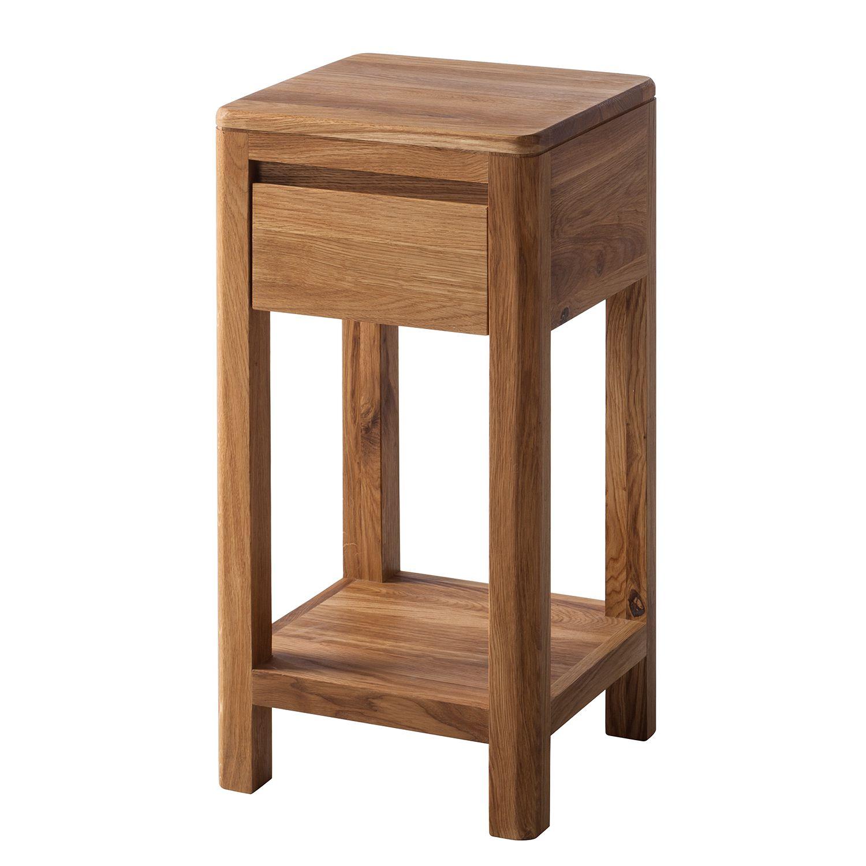 beistelltisch anamur i wildeiche massiv 60 ars natura online kaufen bei woonio. Black Bedroom Furniture Sets. Home Design Ideas
