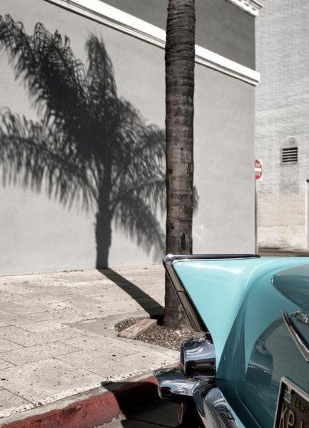 Bel Air Turquoise Leinwandbild