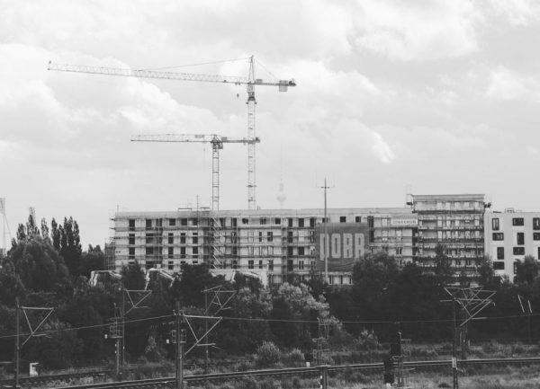 Berlin Leinwandbild