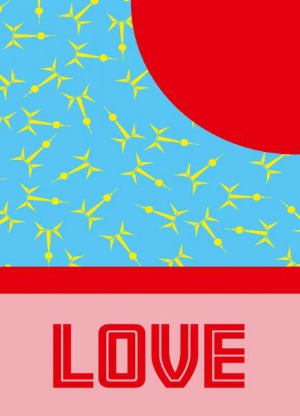 Berlin Love Leinwandbild