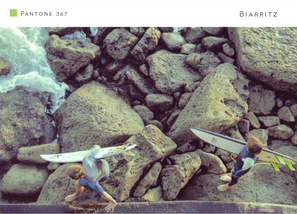 Biarritz 367 Leinwandbild