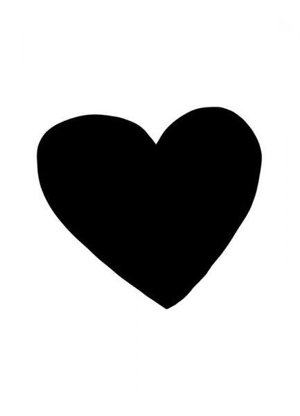 Big Heart Leinwandbild