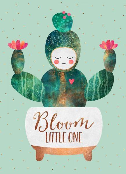 Bloom Little One Leinwandbild