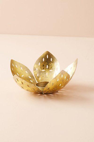 Blooming Bud Kerzenhalter - Gold44302263EU