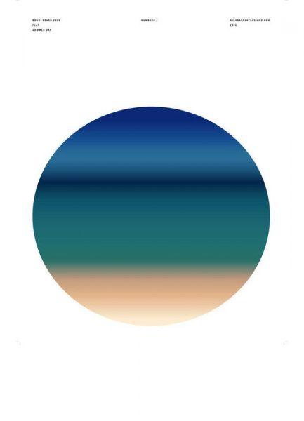 Bondi Beach 2026 Summer Day Leinwandbild