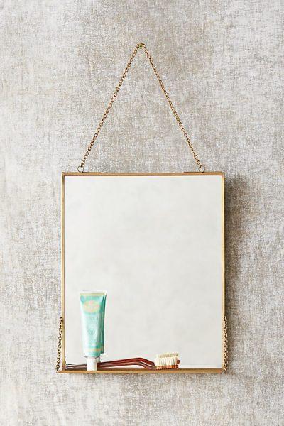 Brass Mirror Regal - Bronze9209867