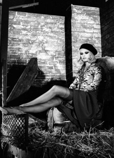 Brigitte Bardot Bonnie And Clyde Leinwandbild