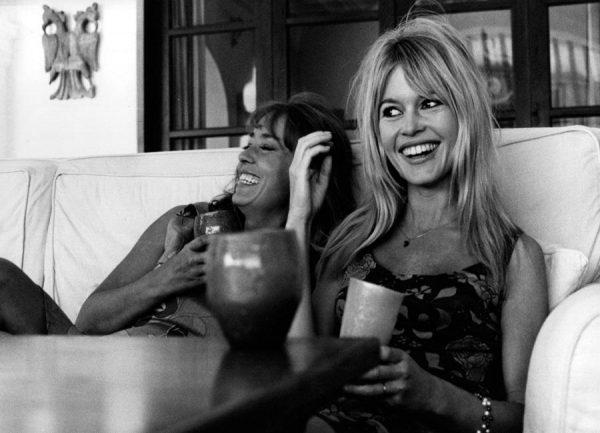 Brigitte Bardot Smiling Leinwandbild