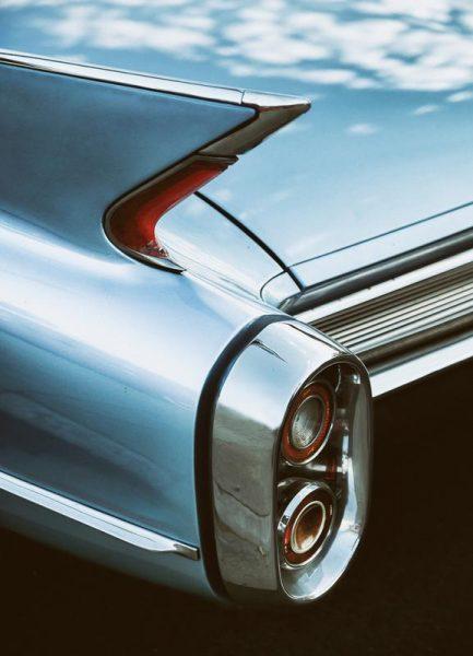 Cadillac Sky Leinwandbild