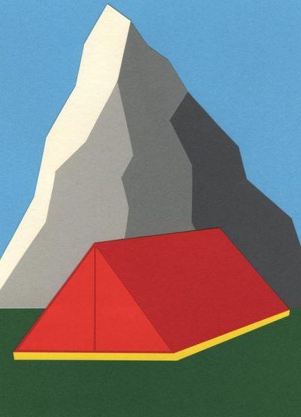 Camp Mount Whitney Leinwandbild