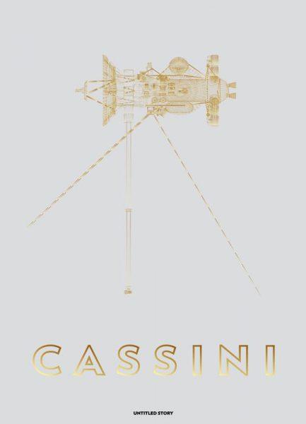 Cassini Huygens Spacecraft Leinwandbild