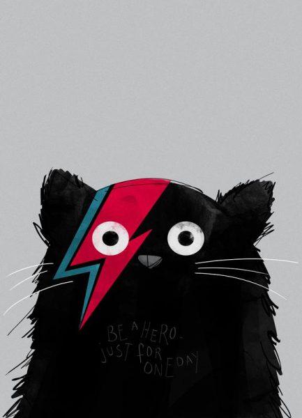 Cat Hero Leinwandbild