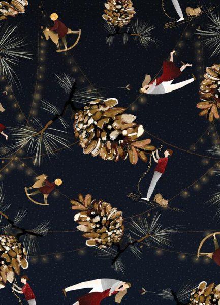 Christmas 5 Leinwandbild