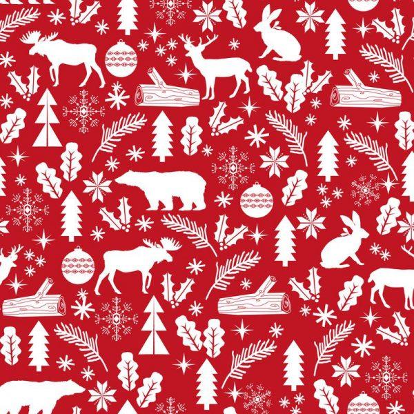 Christmas Woodland Leinwandbild