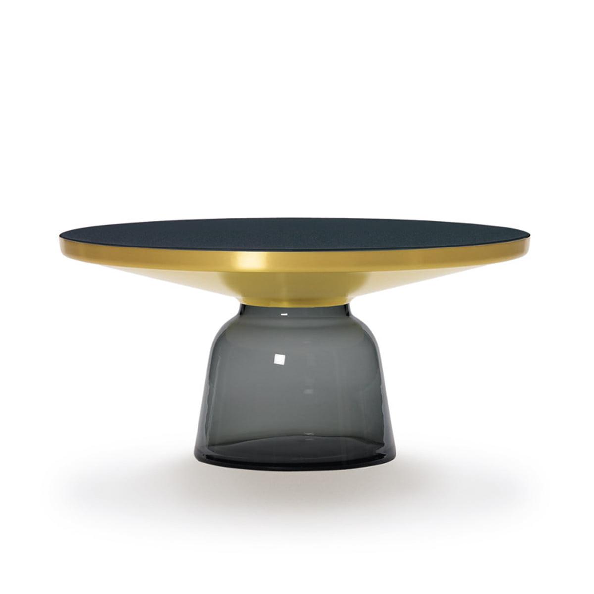 classicon bell couchtisch messing quarz grau grau h 36 online kaufen bei woonio. Black Bedroom Furniture Sets. Home Design Ideas