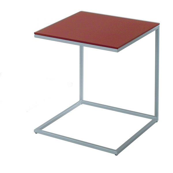 Classico 40 Beistell- und Couchtisch Gestell Stahl rot