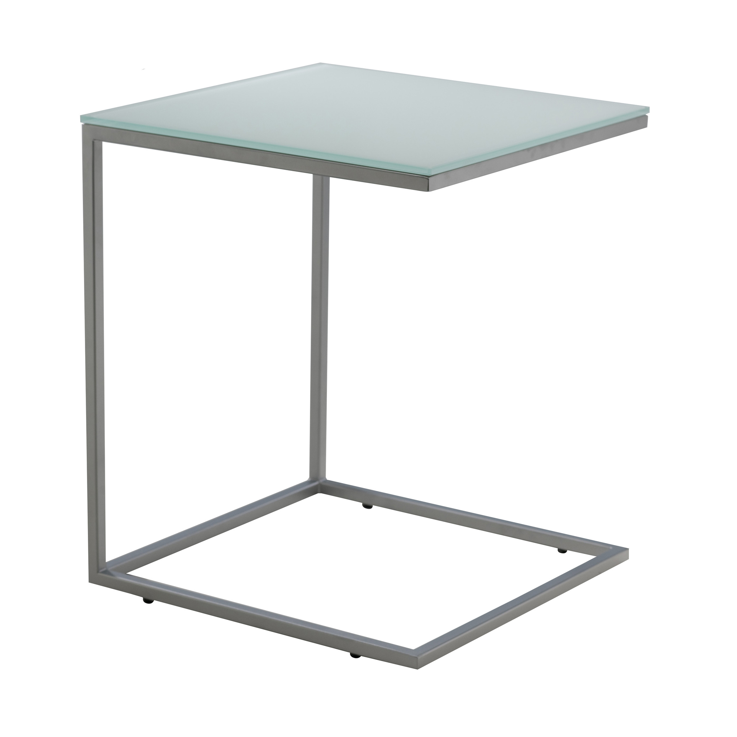 classico 40 beistell und couchtisch gestell stahl wei online kaufen bei woonio. Black Bedroom Furniture Sets. Home Design Ideas