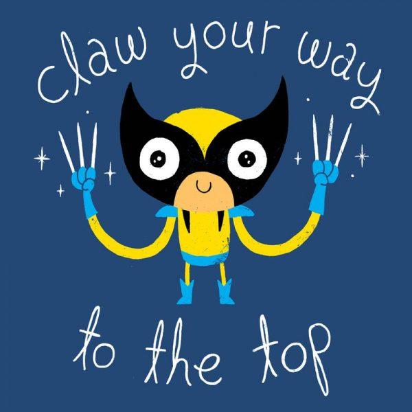 Claw Your Way to the Top Leinwandbild
