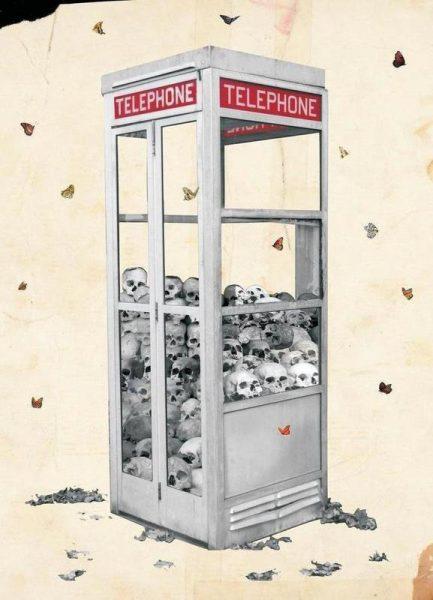 Collect Call Leinwandbild