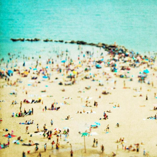 Coney Island Beach 2 Leinwandbild