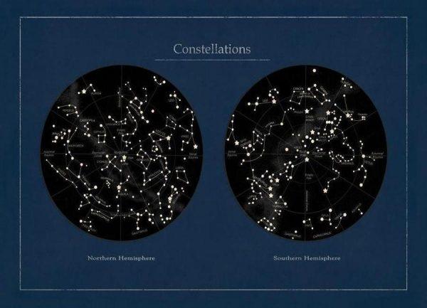 Constalation Leinwandbild