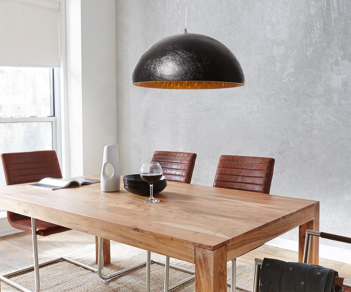 delife h ngeleuchte caldero 38 cm schwarz gold h ngeleuchten 9870 online kaufen bei woonio. Black Bedroom Furniture Sets. Home Design Ideas