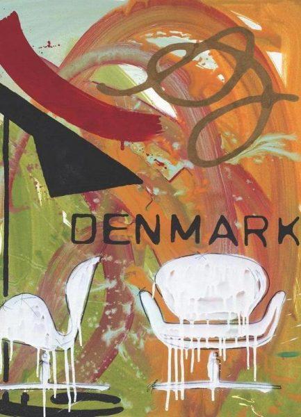 Danish Hommage 2 Leinwandbild