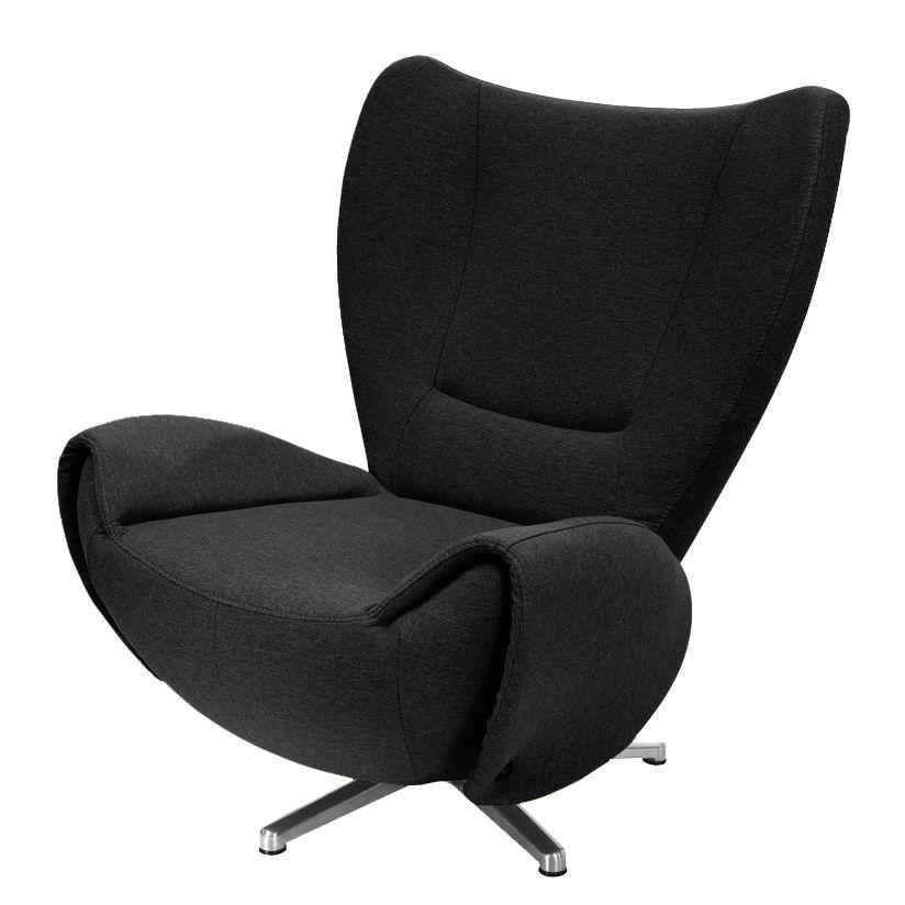 designer drehsessel tom webstoff schwarz tom tailor online kaufen bei woonio. Black Bedroom Furniture Sets. Home Design Ideas