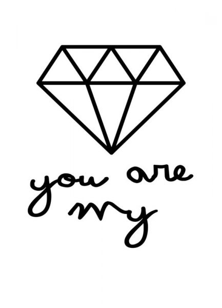Diamond Leinwandbild