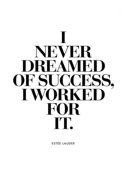 Dreamed Of Success Leinwandbild