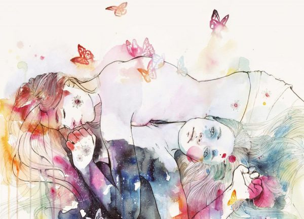 Dreamy Insomnia Leinwandbild