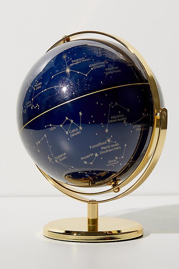 Weihnachtsdeko Globus.Drehbarer Globus Sapphire